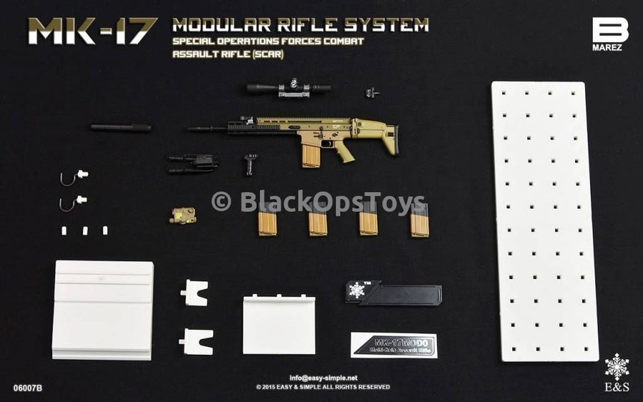 Easy & Simple 06007 MAREZ: MK-17 SCAR Rifle Set B Mint In Box