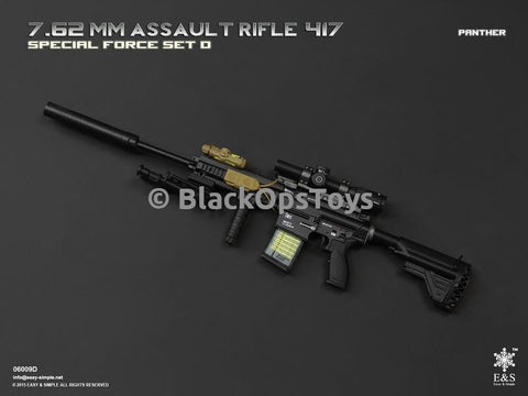 Easy & Simple 06009 HK417 7.62 Rifle PANTHER Set D Mint in Box