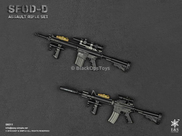 Easy & Simple SFOD-D Assault Rifle Set Twin Pack Mint in Box