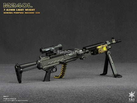 Easy & Simple M240L 7.62mm Light Weight General Purpose Machine Gun Mint in Box