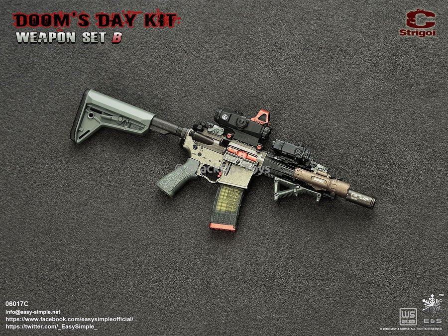 PREORDER Doom's Day Kit 3 Pack Weapon Set A,B,C MINT IN BOX