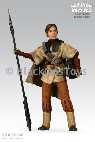 Star Wars - Leia As Boushh - Black Staff (Custom)