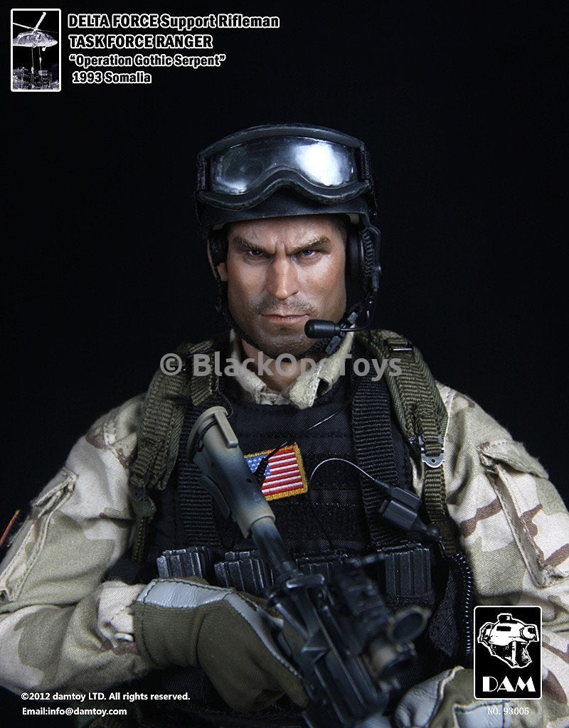 Ultra Rare - BHD Delta Force Support Rifleman - Mint in Box