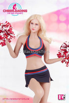 Cheerleading Black Outfit Set C