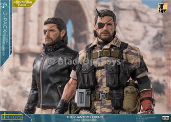 Metal Gear Solid Ishmael & Tiger Stripe Snake 2-pack MINT IN BOX