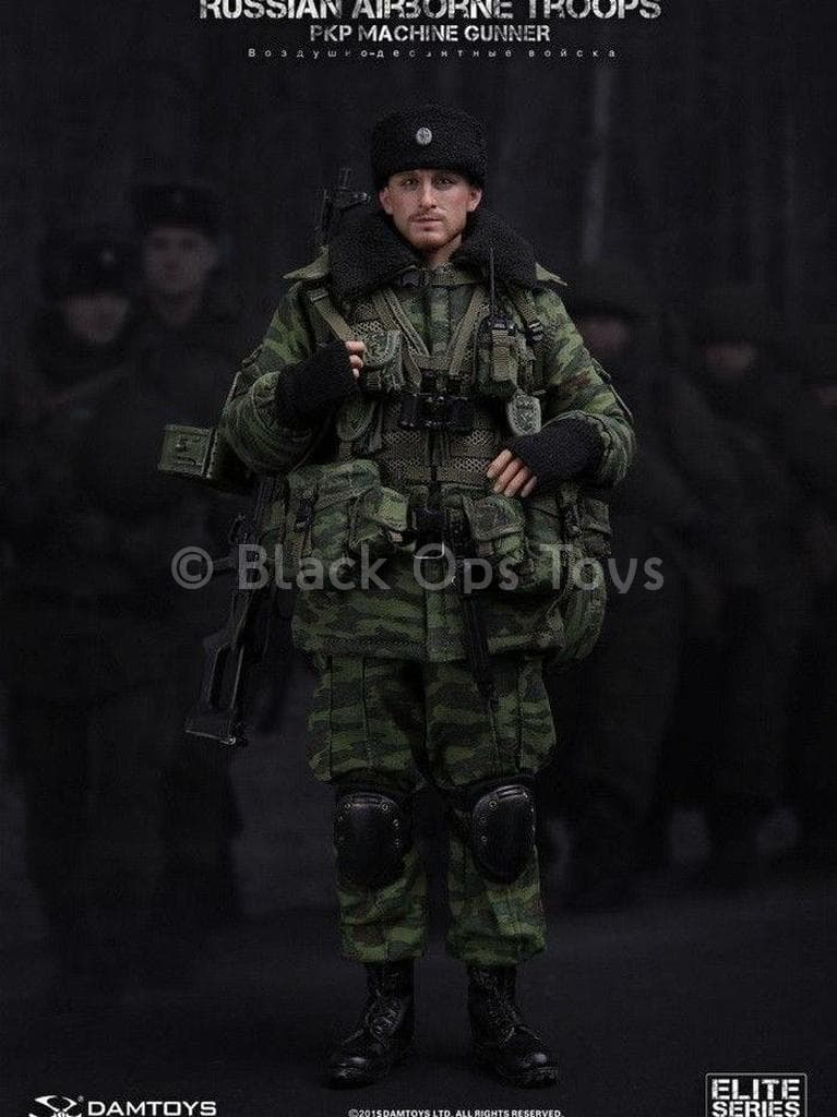 Russian Airborne - Black Fingerless Gloves