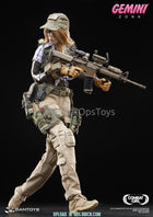 Combat Series Female PMC GEMINI - ZONA Multicam Pistol Dropleg Holster