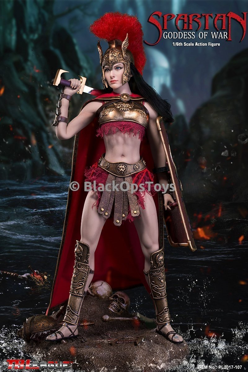 Spartan Goddess Of War - Female Greaves