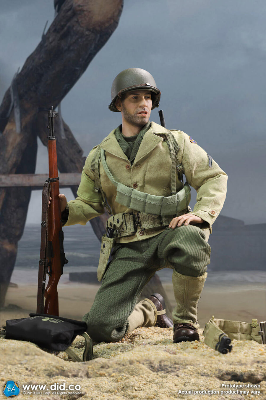 DID A80140 1//6 WWII US 2nd Ranger Battalion Series Private Caparzo Body Model