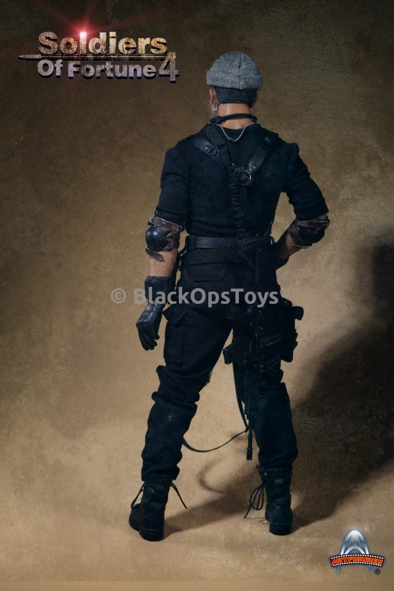Soldiers of Fortune 4 Galgo from The Expendables 3 Black Combat Pants