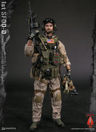1st SFOD-D Group Gunner - Black Hat