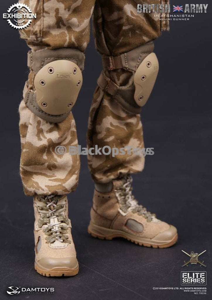 Dam Toys British Army 2016 China Show CICF Minimi Exclusive Tactical Knee Pads