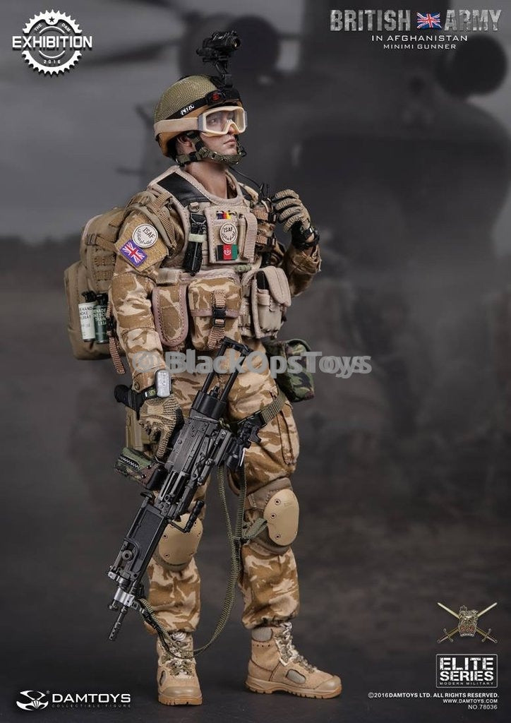 Dam Toys British Army 2016 China Show CICF Minimi Exclusive Head & Male Base Body