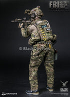 Dam Toys FBI HRT Agent Hostage Rescue Team Servarevitas Multicam Dump Pouch & Retraction Lanyard Set