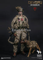 Dam Toys Navy Seal DEVGRU K9 Handler in Afghanistan WITH DOG Mint in Box