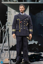 German U-Boat Commander - Tan Coat w/Fur Like Lining