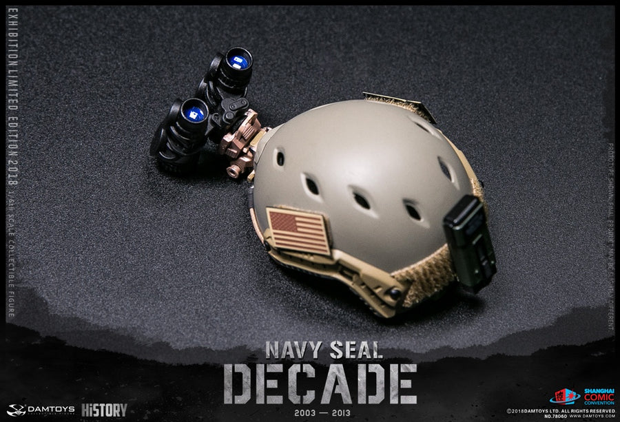 RARE SHCC Exclusive DECADE NAVY SEAL 2003-2013 MINT IN BOX
