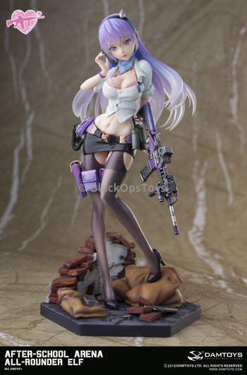 PREORDER After-School Arena - First Shot: All-Rounder ELF PVC Statue MINT IN BOX