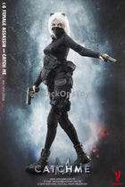 PREORDER Female Assassin Series First Bomb - Catch Me Scar Head Sculpt MINT IN BOX