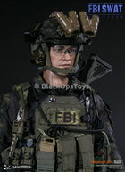 FBI SWAT Team Agent San Diego Midnight Ops Version B Helmet & NVG Set
