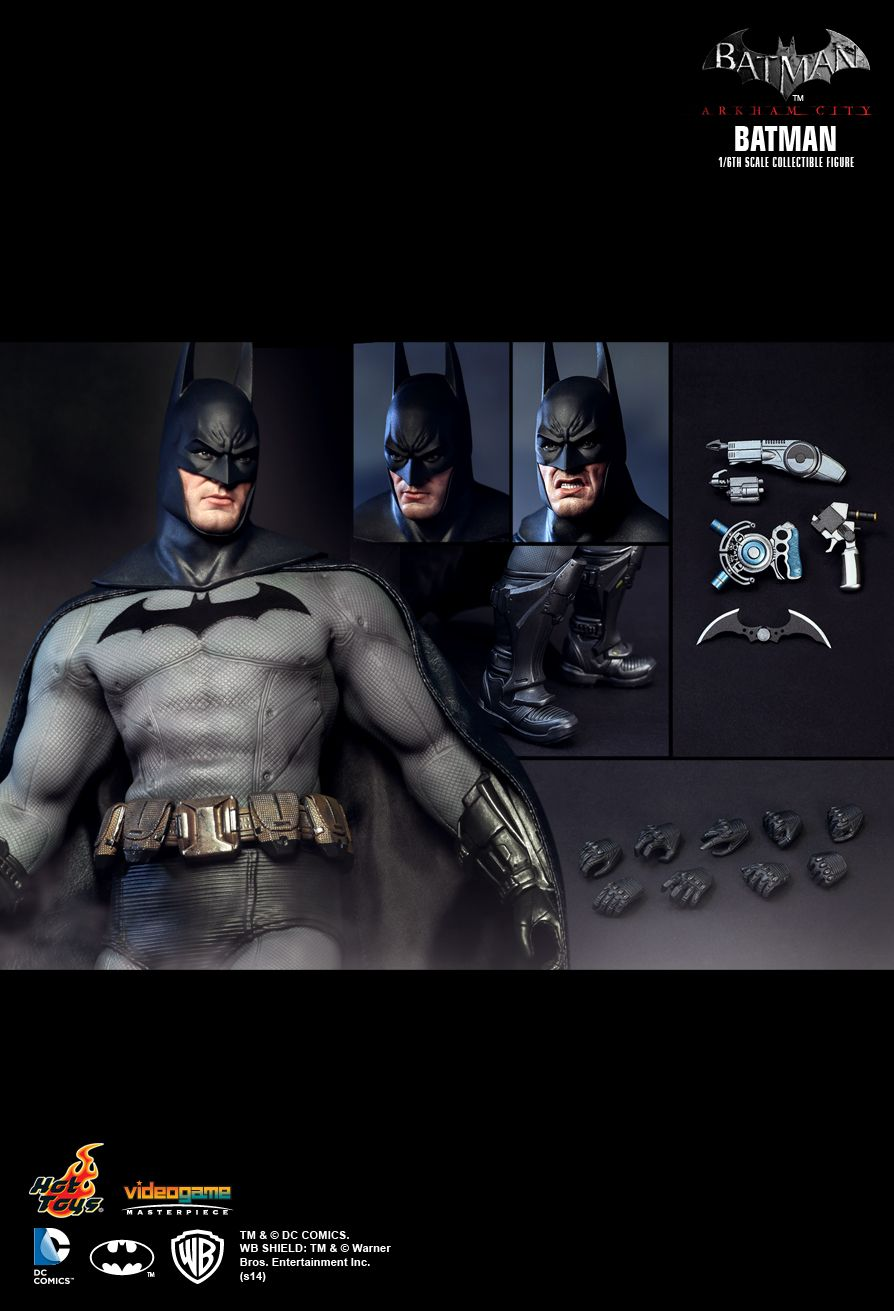 Arkham City - Batman - Line Launcher w/Explosive Gel