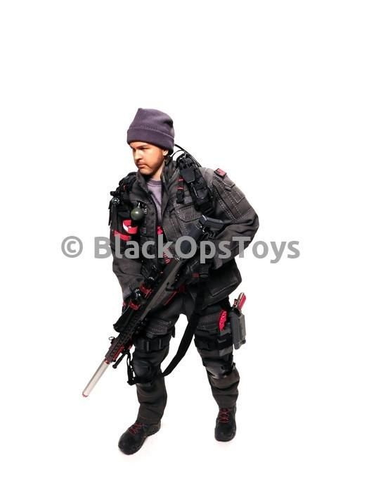 "Exclusive Wolf Grey ZERT Z Squadron Urban Sniper ""Black Jack"" - Mint in Box"