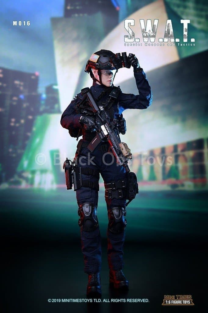 Mini Times toys MT-M016 US Female Police S.W.A.T Officer 1//6 Figure