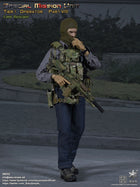 British SMU - Lone Rescuer - OD Green Radio Set