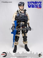 US Navy VBSS Male Base Body with Tattoos