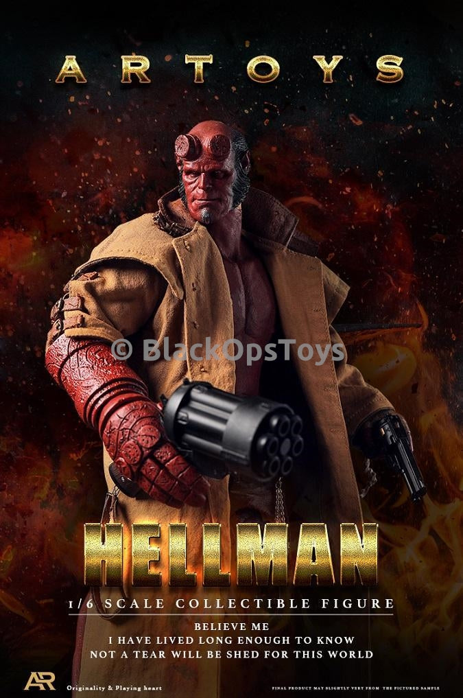 HELLBOY - Head Sculpt Type 2