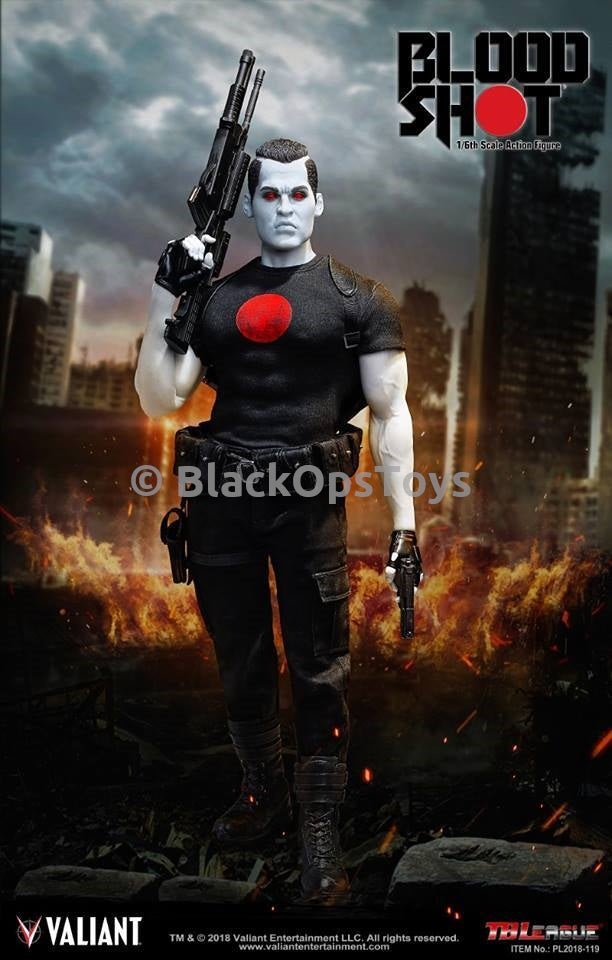 BLOODSHOT - Assault Rifle w/Shot Gun Attachment