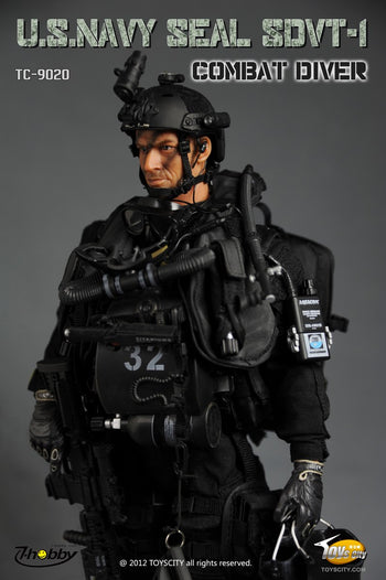 U.S. Navy Seal SDVT-1 Combat Diver - MINT IN BOX