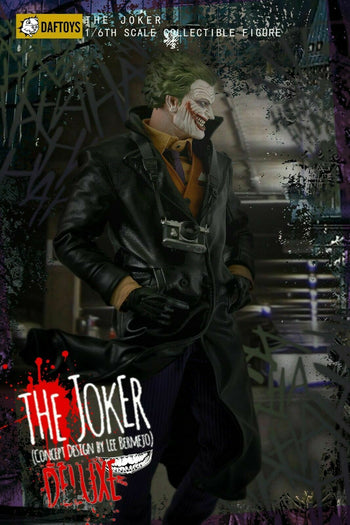 The Joker Deluxe - Uniform & Head Sculpt Set - MINT IN BOX