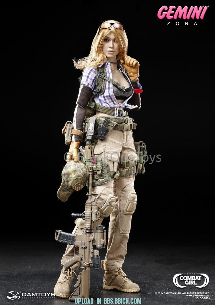 Combat Series Female PMC GEMINI - ZONA Female Headsculpt and Body