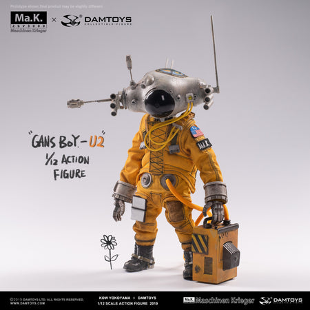 PREORDER - 1/12 - GansBoy-U2 Robot Headed Pilot - MINT IN BOX