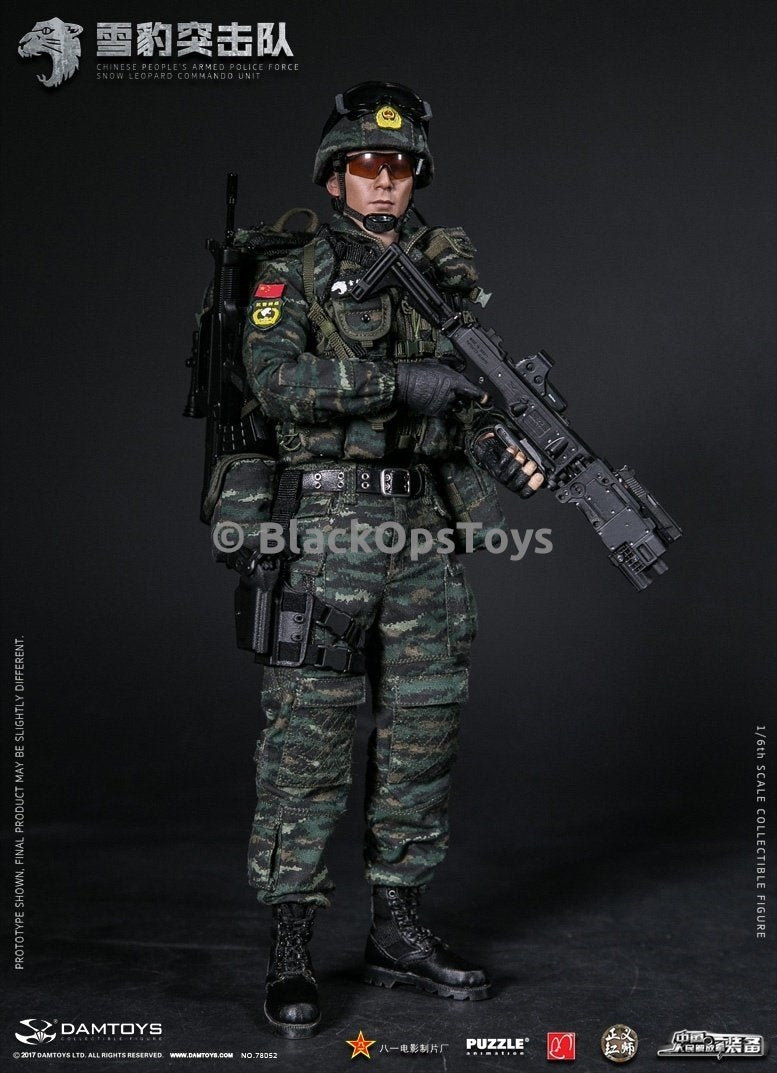 Chinese Police Force - Camo Tactical Helmet