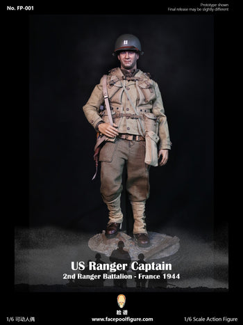 WWII - US Ranger Captain France 1944 - MINT IN BOX