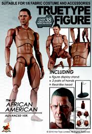True Type - African American - Male Head Sculpt