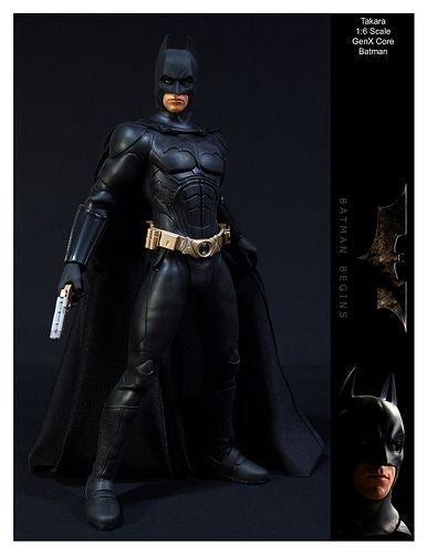 Batman Begins - Black Boots (Peg Type)