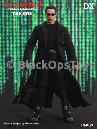 1//6 Scale The Matrix Neo Keanu Reeves Black Combat Boots Foot Type