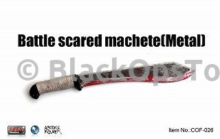 Crazy Owner Vintage One Sixth Scale Bloody Real Metal Machete
