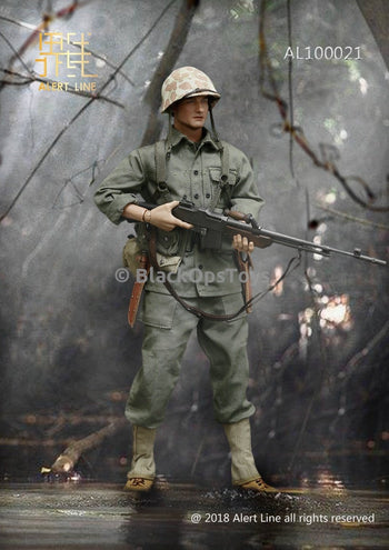 WWII US Marine Corps Browning Automatic Rifle Gunner Set MINT IN BOX