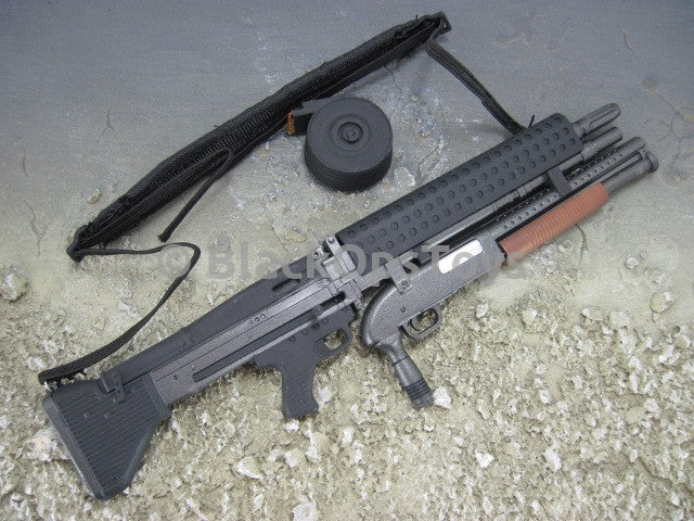 Modern US Machine Gun Series III M60 Machine Gun with Shotgun Attachment Set