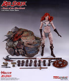 Phicen Limited Red Sonja Scars of The She-Devil Resting Gloved Hands Peg Type