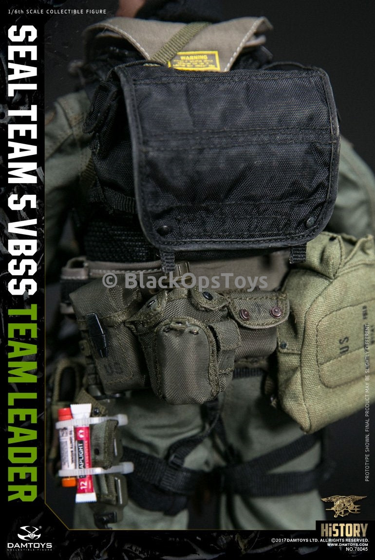 Navy Seal Team 5 VBSS Team Leader OD Small Pouch