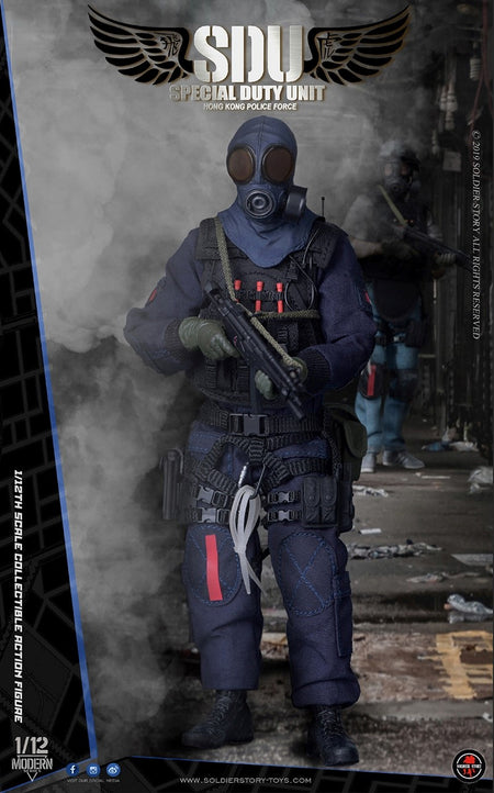 PREORDER - 1/12 scale - HK SDU Assault Team - MINT IN BOX