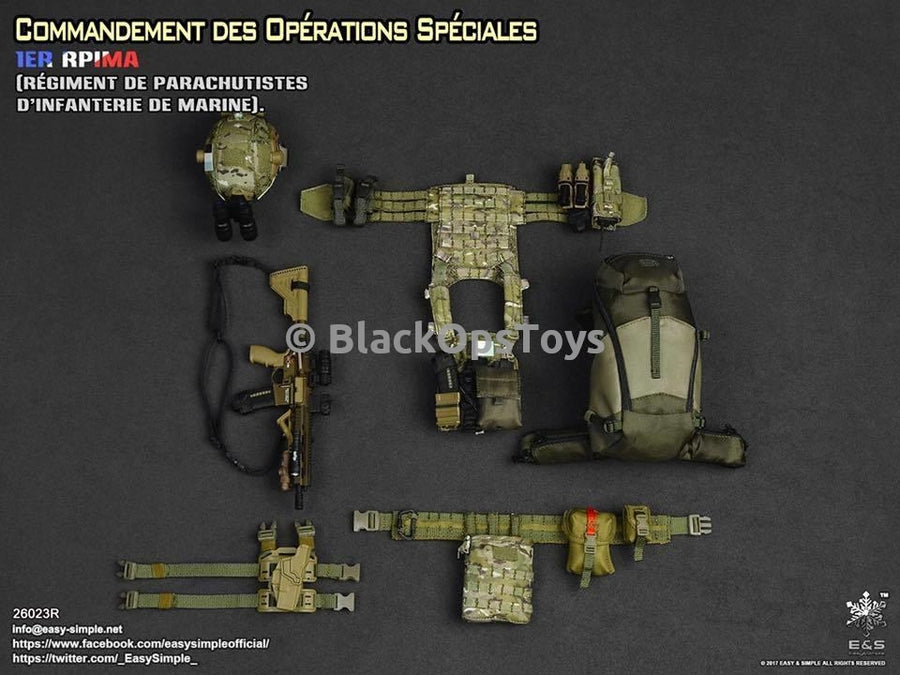 French Special Forces COS 1ER RPIMA CCE - Mint in Box
