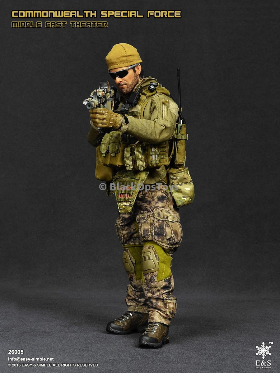 Commonwealth Special Forces Middle Eastern Theater - MINT IN BOX