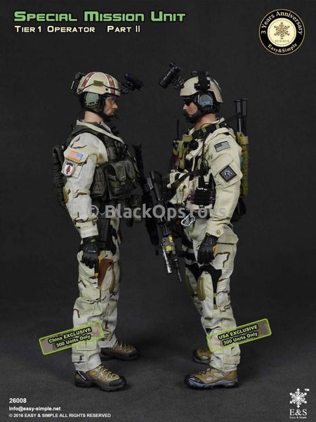 Special Mission Unit Tier-1 Operators Part II USA & China Exclusives COMBO PACK Mint in Box