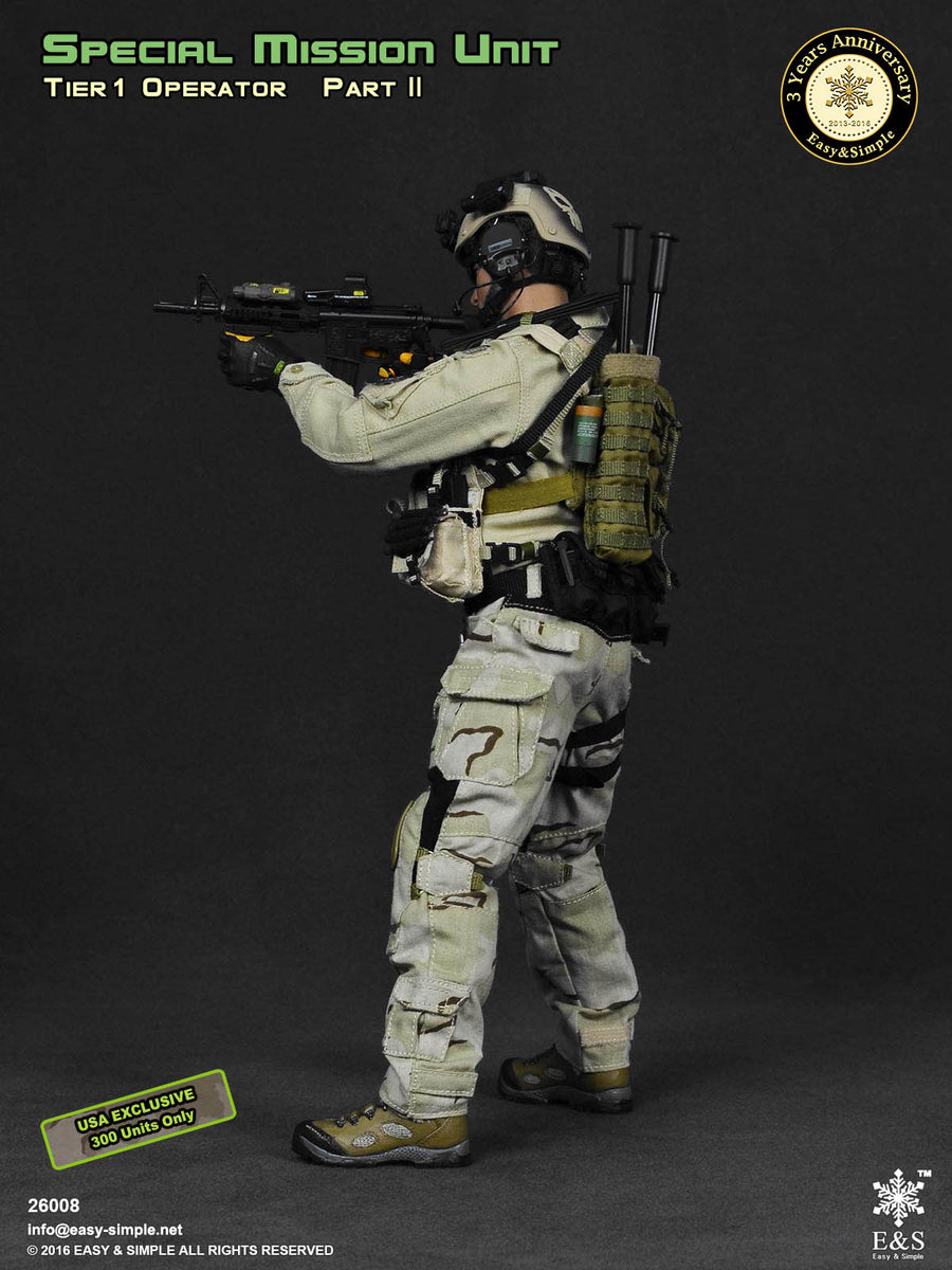 SMU - USA Exclusive Operator - Tan Helmet w/NVG Set